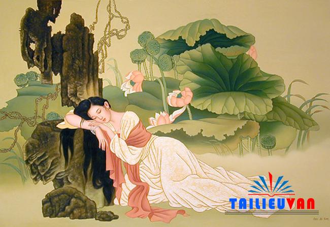 Phân tích bài thơ Tự tình II của Hồ Xuân Hương (dàn ý và bài làm tham khảo)