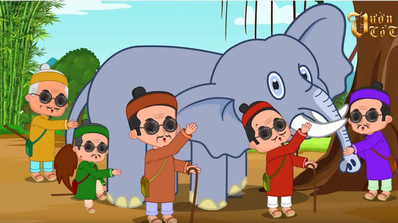 giai thich thanh ngu thay boi xem voi la gi va thanh ngu tuong tu - Giải thích thành ngữ Thầy bói xem voi là gì? và thành ngữ tương tự