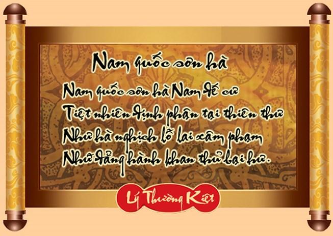 phat bieu cam nghi ve bai song nui nuoc nam - Phát biểu cảm nghĩ về bài Sông Núi Nước Nam