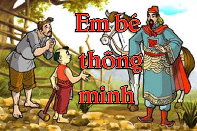 phat bieu cam nghi ve truyen em be thong minh - Phát biểu cảm nghĩ về truyện Em bé thông minh